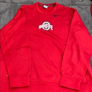 XL Nike Ohio State Fleece Lined Sweatshirt